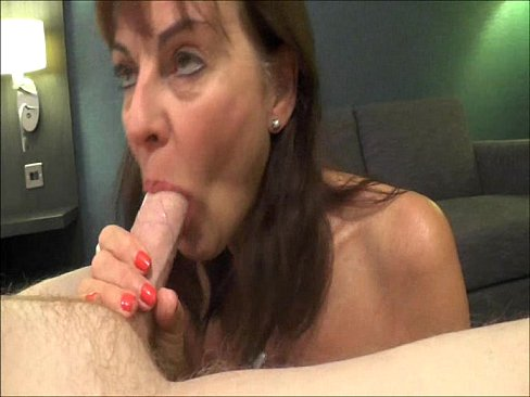 Mature escort blowjob