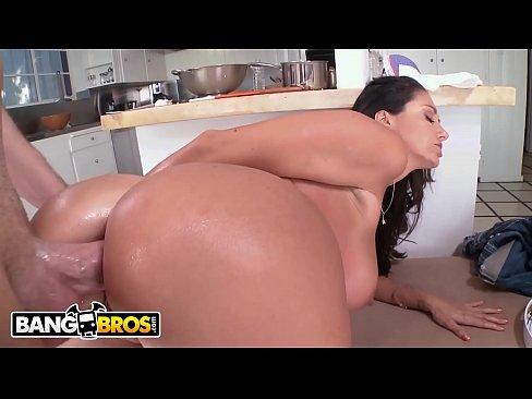 Ass busty round tit
