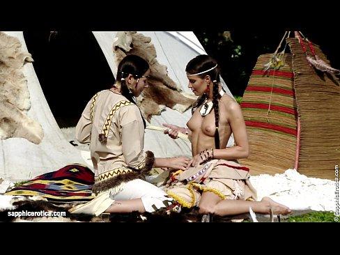 Tribal lesbo porno