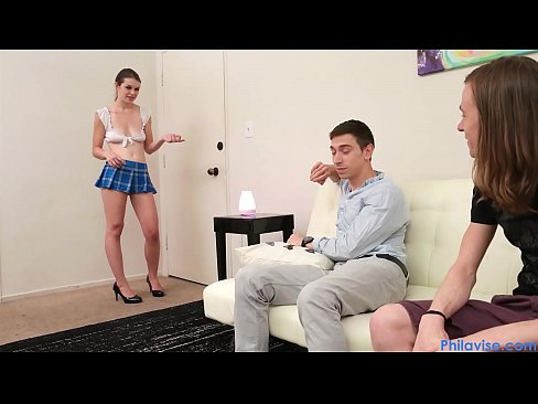 PHILAVISE- Blackmail and a creampie with our stepsis Anastasia Rose
