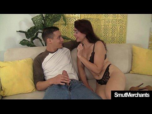 Mature Woman Fucks Young Guy