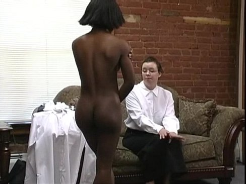 Black Girl OTK Discipline