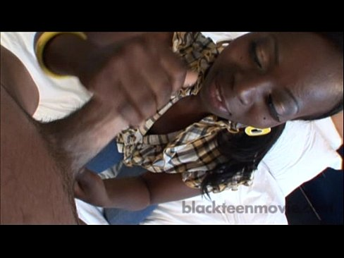 Amateur Ebony Teen Riding