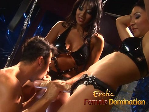 Bdsm domination scene