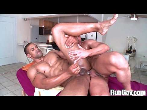 Rubgay amateur cock massage