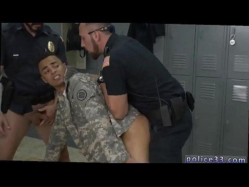Straight military men having gay sex