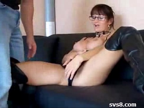 Cute german milf and a geek