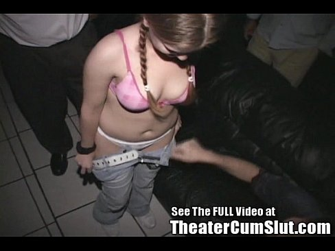 Hardcore sex at xxx theater