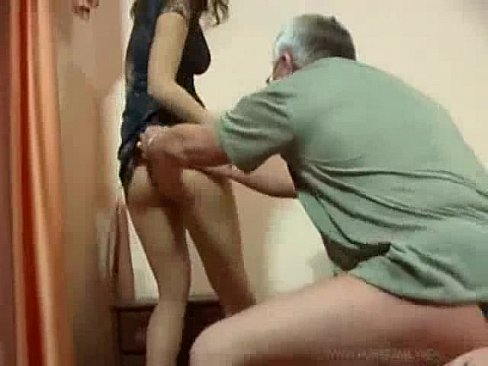 Men and girl having sex