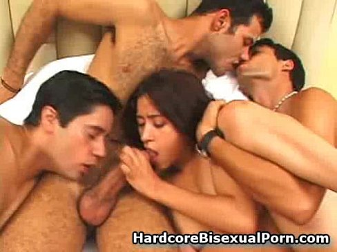 Bisexual Hot Group Of Horny Hunks