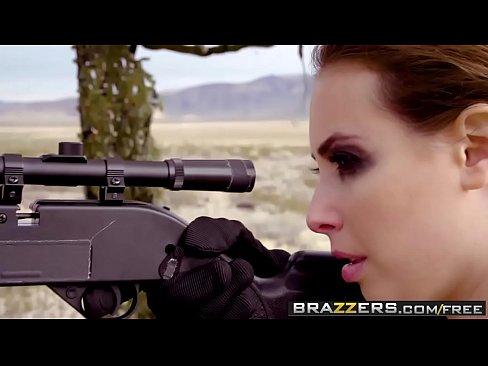 Brazzers - Brazzers Exxtra -  Metal Rear Solid The Phantom Peen (A XXX Parody) scene starring Casey