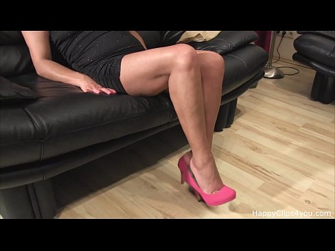 My stepmom foot fetish video