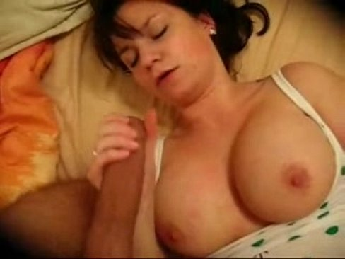 Real amateur wife blindfolded and surprised