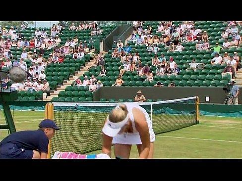 Upskirt tennis net