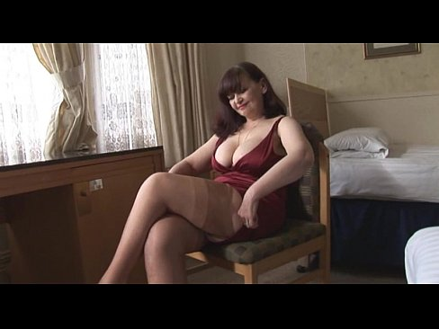 Big tits mature panty play and striptease-34196