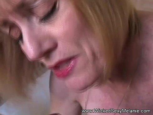 Slutmilf handjob