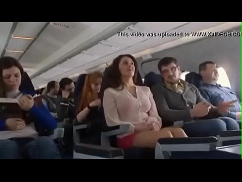 Tit flashing on a plane gif tits