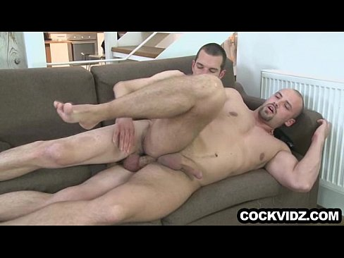 Hot Muscly Bi Hunk Rimmed And Blown