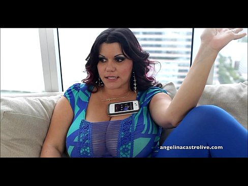 Busty Cuban BBW Angelina Castro LOVES to Have Sex!