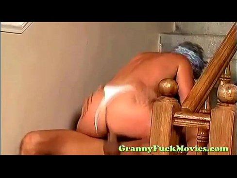Nasty granny fuck