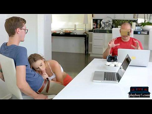 Girl Cheating While Phone