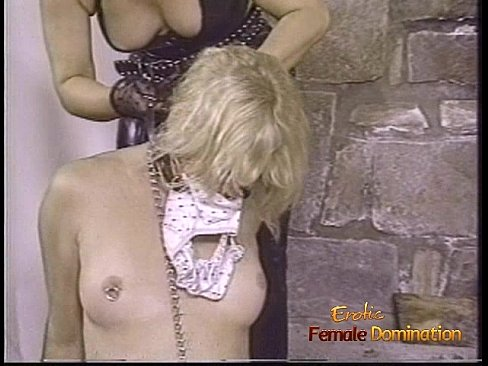 Three babes and one stud have some naughty BDSM fun