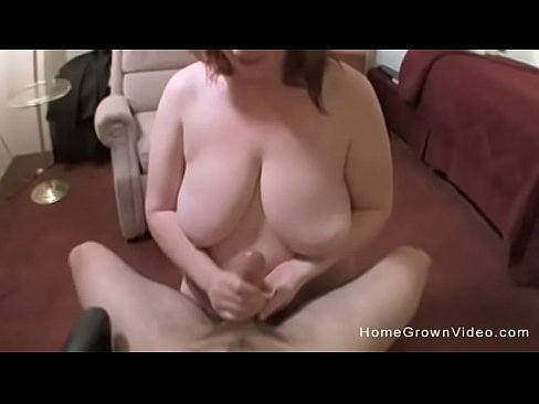 Huge tits blonde milf amateur gangbang