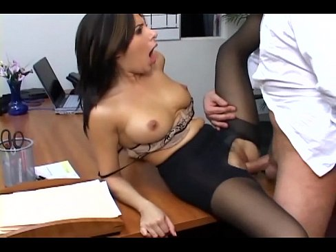 Pantie hose secretary sex