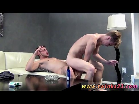 Love lick and brunette twink bareback with cumshot love giving