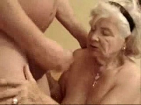 Old granny sex with boy