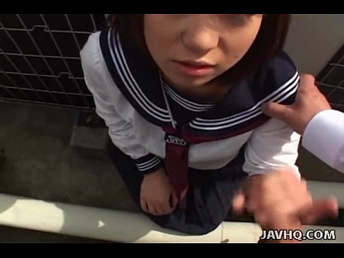 Japanese Cutie Sucks Multiple Censored Cocks