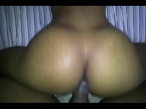 Ebony Amateur Creamy Backshots