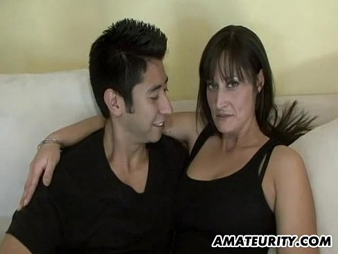hottest amateur wife sucks young cock