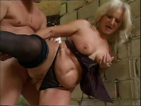 Big tits felt up