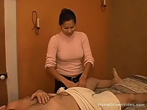 ebony real amateur handjobs on white guys massages