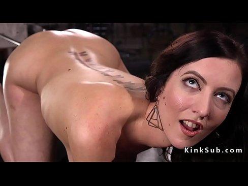 Talk big tit brunette fucked