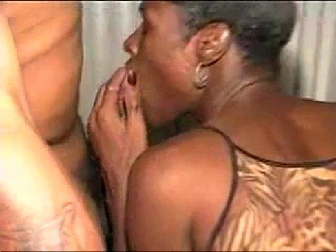 Ebony married couple having sex