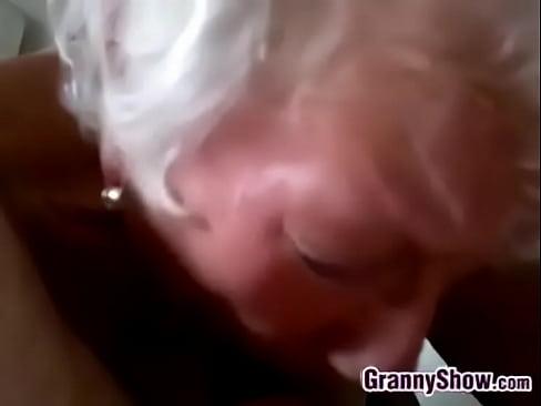 amateur granny swallow sex
