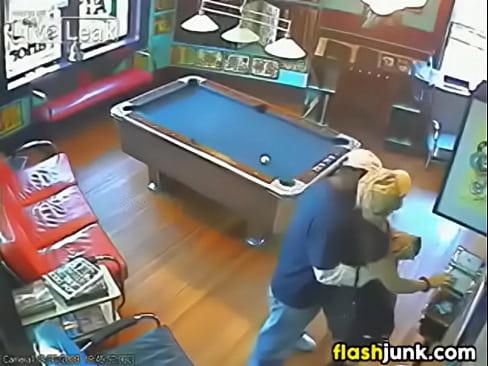 Caught on sex