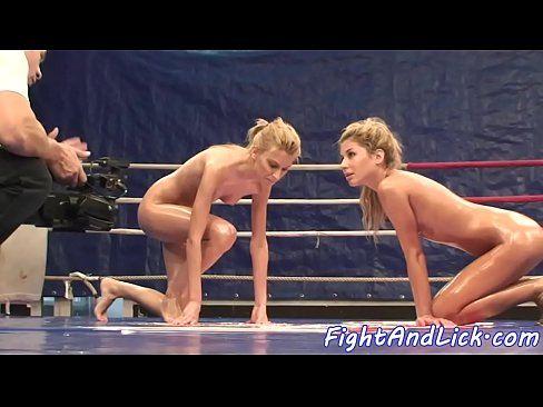 Thai girls naked wrestling with