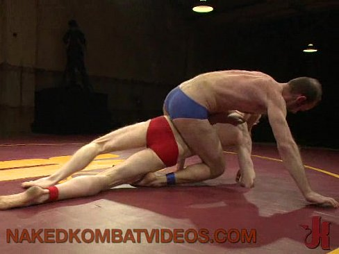 Two Combat Outdoor Wrestling Fucking
