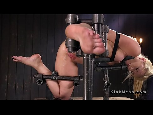 Removed busty forced device bondage what result?