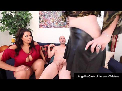 Amateur Bbw Ffm Threesome