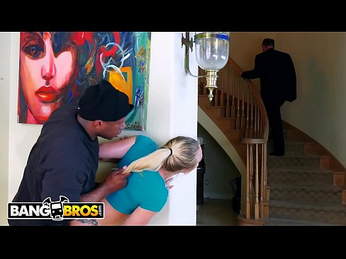 BANGBROS - PAWG Takes A Big Black Dick From Masked Intruder While Daddy Is Still Home