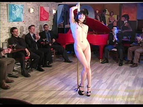 Naked bar dance video
