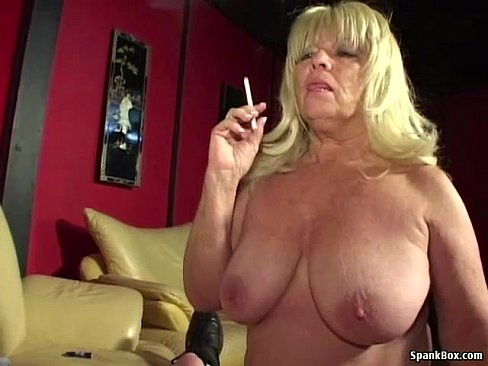 Smoking woman german mature
