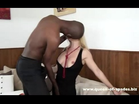 Interracial cock queens