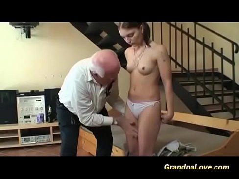 Girl sit on a dildo