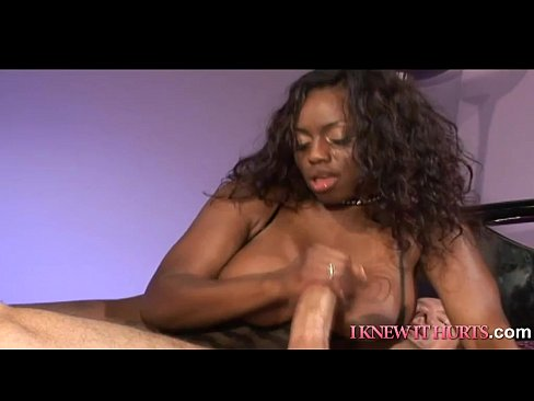 Ebony Milf Threesome Ffm