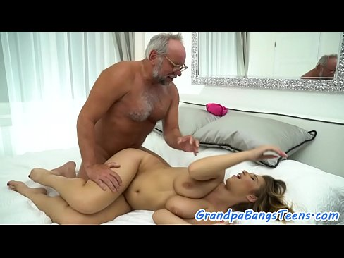 Old Man Anal Big Tits Babe